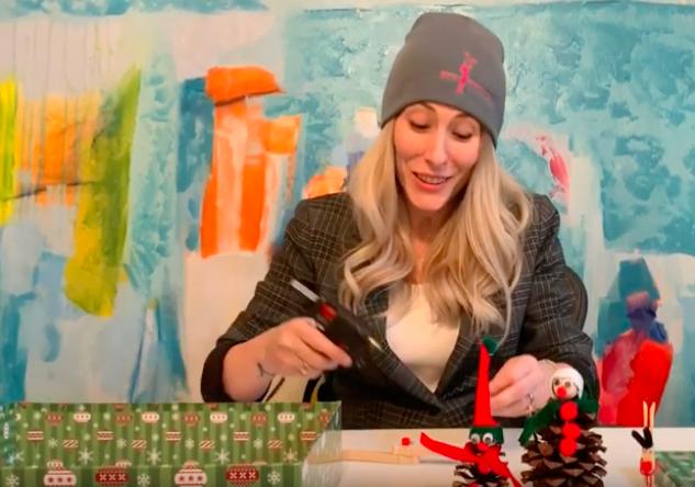 Kaleidoscope Kids Holiday Craft Tutorial