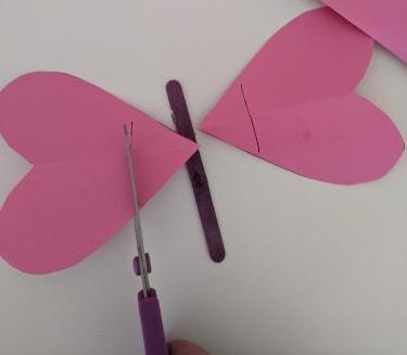 miathrives valentine's day butterfly craft