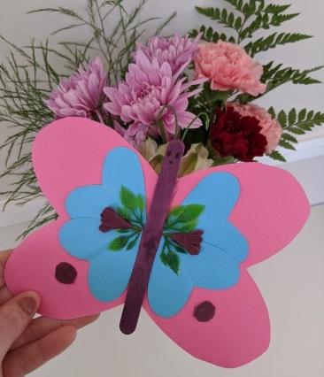 valentines day butterfly craft miathrives