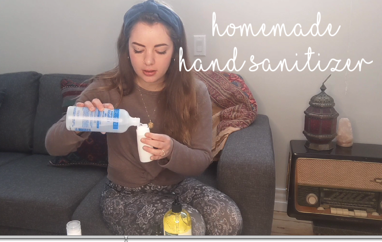DIY Hand Sanitizer- EB Hacks